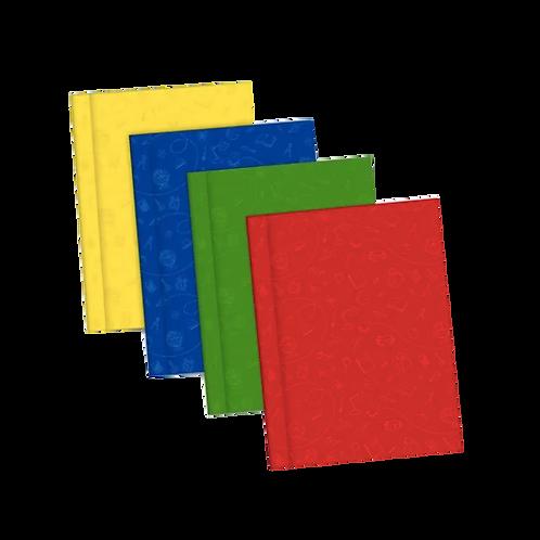 Cod. - 18809 - Cuaderno Cosido Tapa Dura X48Hjs L1Cc