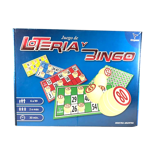Cod. - 19285 - Loteria Y Bingo Jm2311
