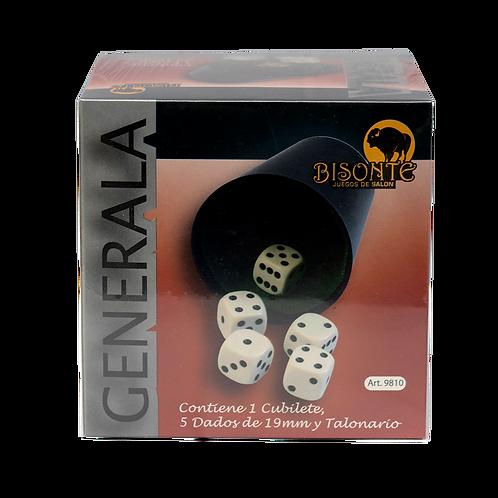 Generala Bisonte Dados 19Mm Urea Bi9810