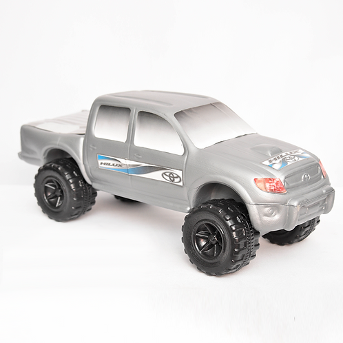 Camioneta Toyota Surf Soplada
