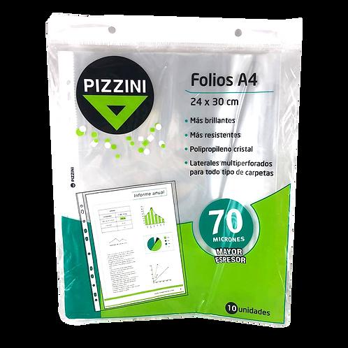 Folios A4 70micrones 70FAX10