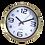 Thumbnail: Reloj De Pared Pastico Tipo Metal Yw3868