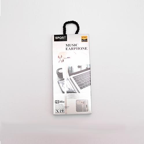 Auricular En Caja X19 Lp