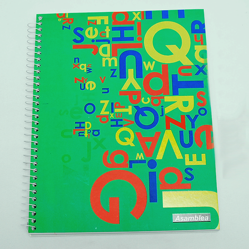 Cuaderno Asamblea 21X27 T/C Emplacado 100Hjs As36