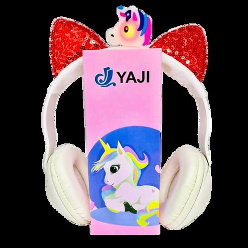 Auricular Unicornio C/Luz Yj605A