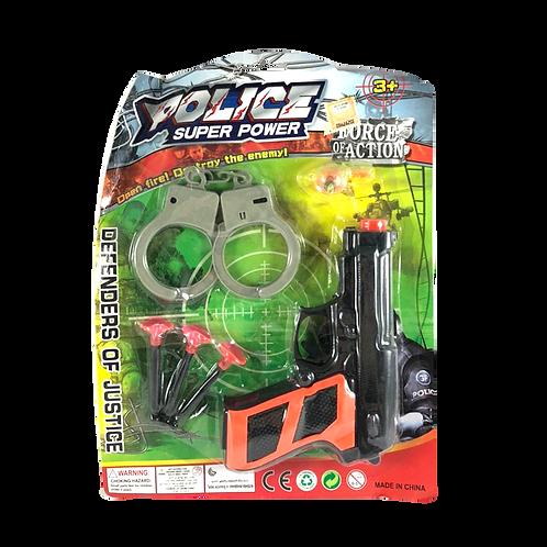 Set De Policia Super Power En Blister 1511