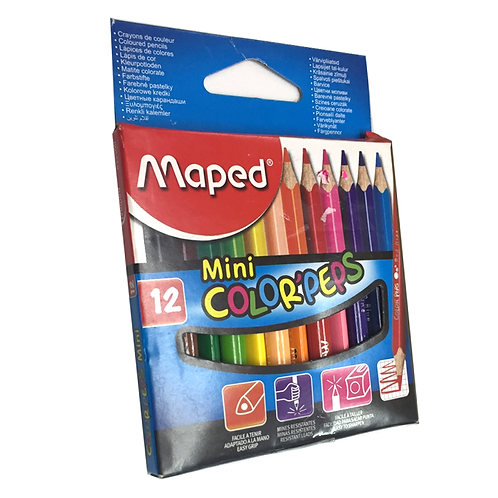 Colores X12 Corto 832500
