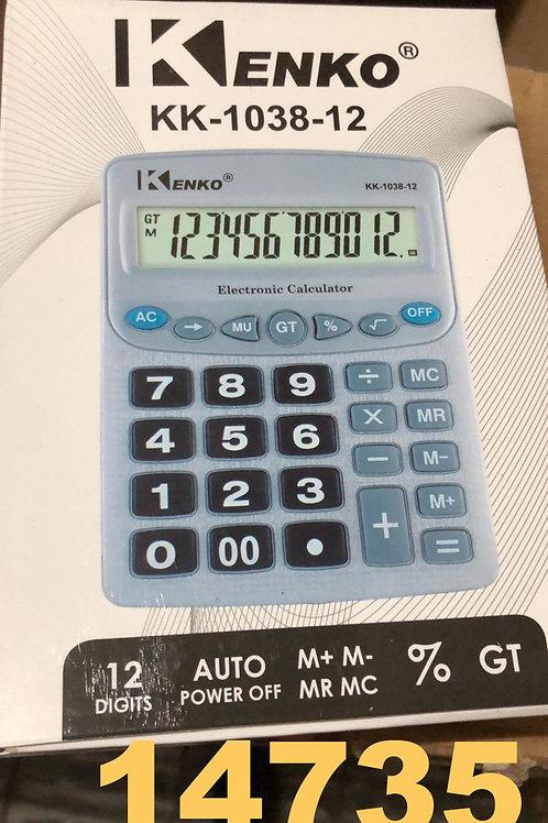 Cod. - 14735 - Calculadora Kenko 1038-12