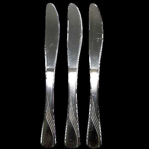 Cuchillo Acero Tallado 32191