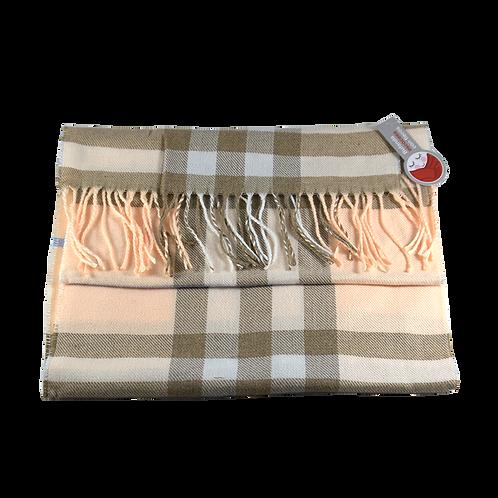 Cod. - 19366 - Bufanda Escocesa C/Flecos 180X30Cm 47298-1