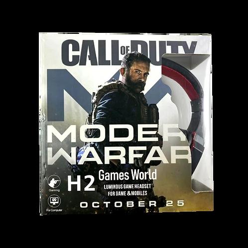 Auricular Gamer Call Of Duty H2