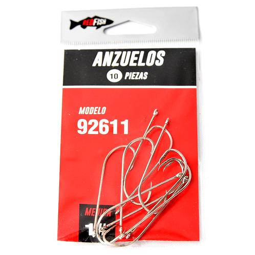 Anzuelos En Bolsa X10 92611-1B