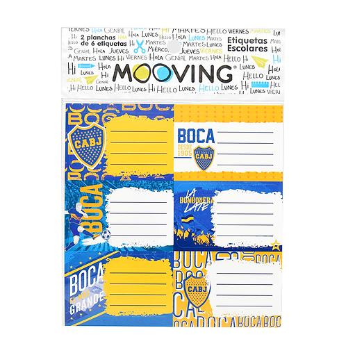 Rotulo Etiqueta Boca Jrs 1301111