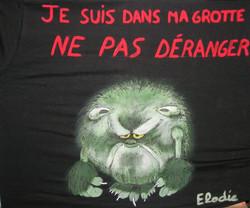 Peinture sur T-Shirt