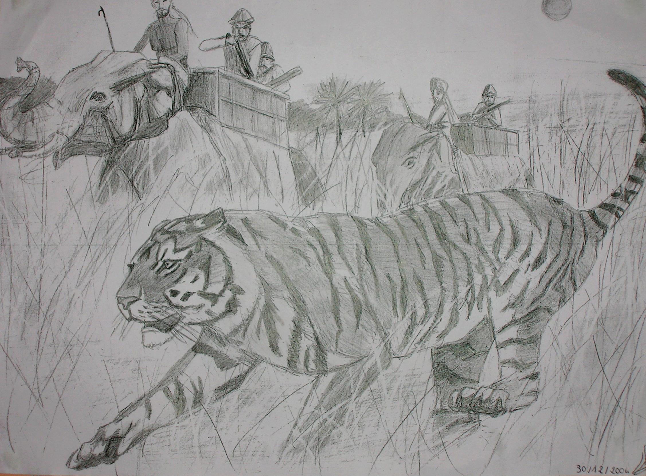 La chasse au tigre (2004)