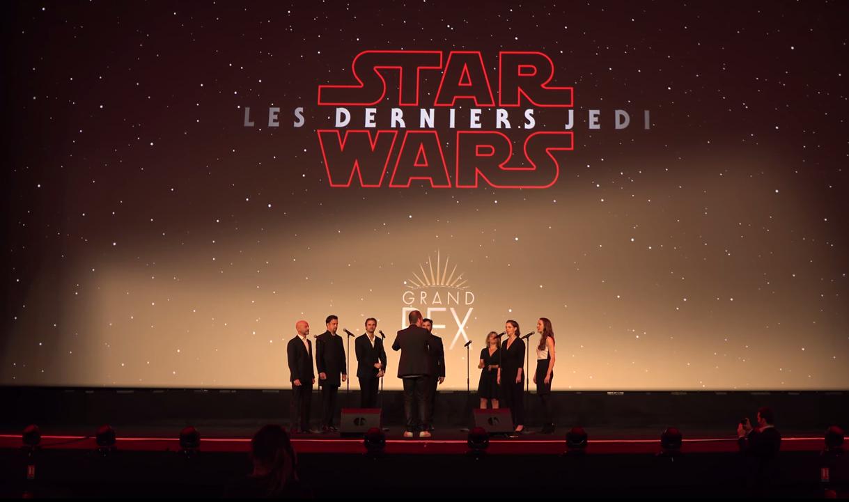 Star Wars VIII, GRAND REX (décembre 2017)