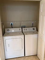 Your Leesburg rental features a washer and dryer