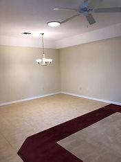 This Leesburg rental features an open floor plan