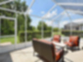 Enjoy entertaining outside in the screened-in patio at this Leesburg Florida rental