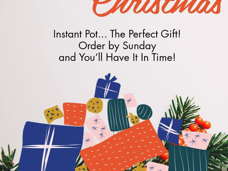 Instant Pot - what a great gift!