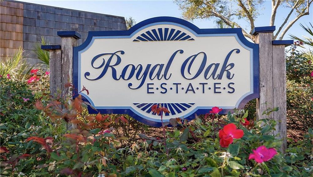 Our Leesburg Florida rental is in a gated community