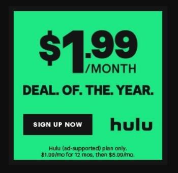 Hulu Basic - Big Savings!