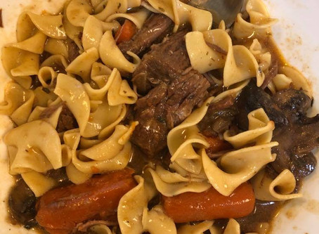 Instant Pot Carbonnade a la Flamande - Beef & Guinness Stew
