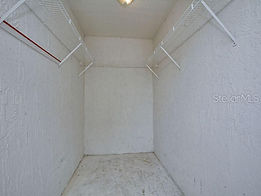 A locking storage closet is provided at thi Leesburg rental