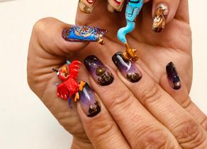 Leandre Kruger wins 'Arabian Nights' nail comp