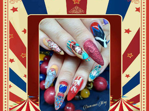Deveraux-May Combrink wins 'Circus & Funfair' nail challenge