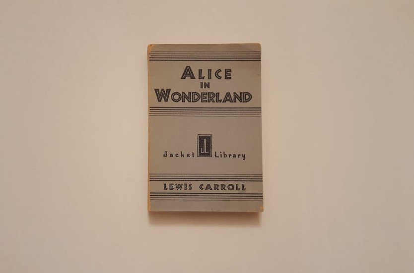 ALICE IN WONDERLAND (1932) - Lewis Carroll - OKYPUS OLD BOOKS