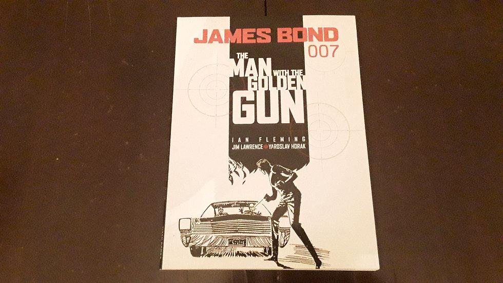 JAMES BOND THE MAN WITH THE GOLDEN GUN -  Ian Fleming , James Lawrence | Okypus Antique Bookshop