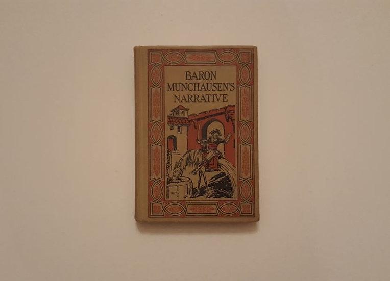 BARON MUNCHAUSEN'S NARRATIVE (1928) [illustrated] - ΩΚΥΠΟΥΣ ΠΑΛΙΑ ΑΓΓΛΙΚΑ ΒΙΒΛΙΑ