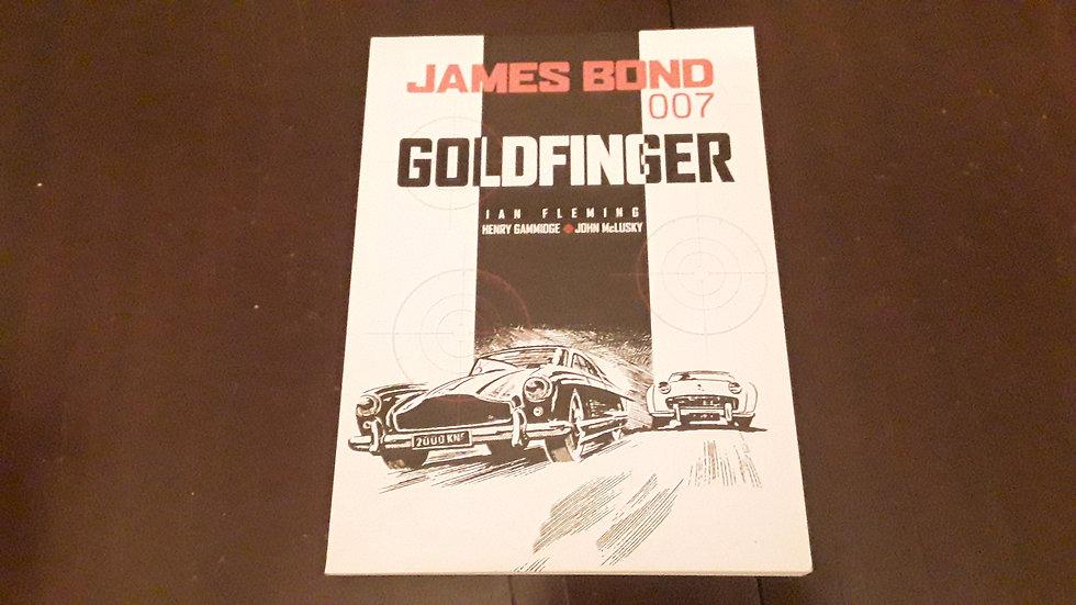 JAMES BOND GOLDFINGER - Henry Gammidge , Ian Fleming , John McLusky  | Okypus Antique Bookshop