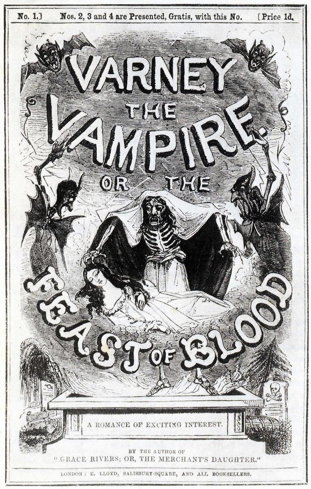 Varney the Vampire; or, the Feast of Blood - OKYPUS bookshop - ΩΚΥΠΟΥΣ βιβλιοπωλείο