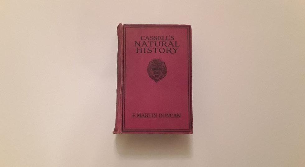 CASSELL'S NATURAL HISTORY - OKYPUS OLD BOOKS - ΩΚΥΠΟΥΣ ΠΑΛΙΑ ΒΙΒΛΙΑ