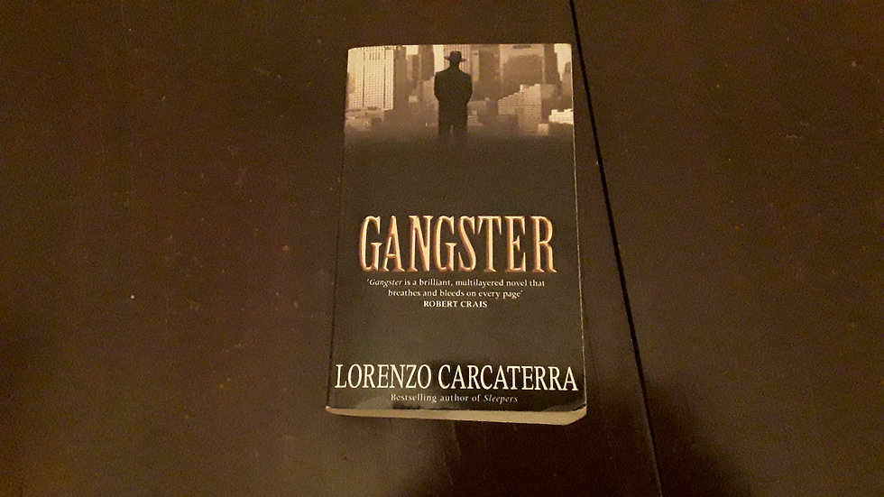 GANGSTER - Lorenzo Carcaterra  | Okypus Antique Bookshop