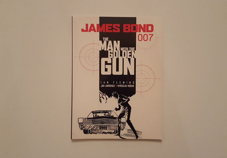 JAMES BOND THE MAN WITH THE GOLDEN GUN -  Ian Fleming , James Lawrence - ΩΚΥΠΟΥΣ ΑΓΓΛΙΚΑ ΒΙΒΛΙΑ
