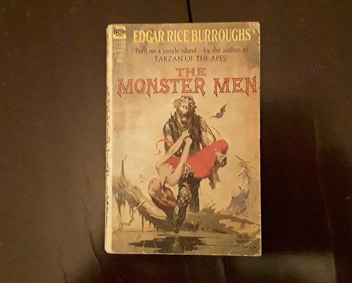 THE MONSTER MEN - Edgar Rice Burroughs | Okypus Antique Bookshop