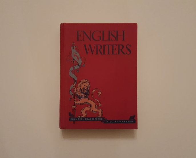 ENGLISH WRITERS (1945) - T. P. Cross & R. Smith & E. C. Stauffer & E. Collette - ΩΚΥΠΟΥΣ ΣΥΛΛΕΚΤΙΚΑ ΒΙΒΛΙΑ