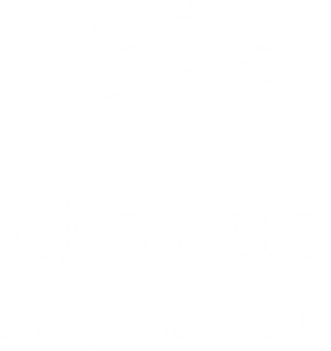 Old rare precious boos by the OKYPUS antique bookstore