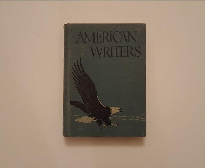 AMERICAN WRITERS (1946) - T. P. Cross & R. Smith & E. C. Stauffer & E. Collette