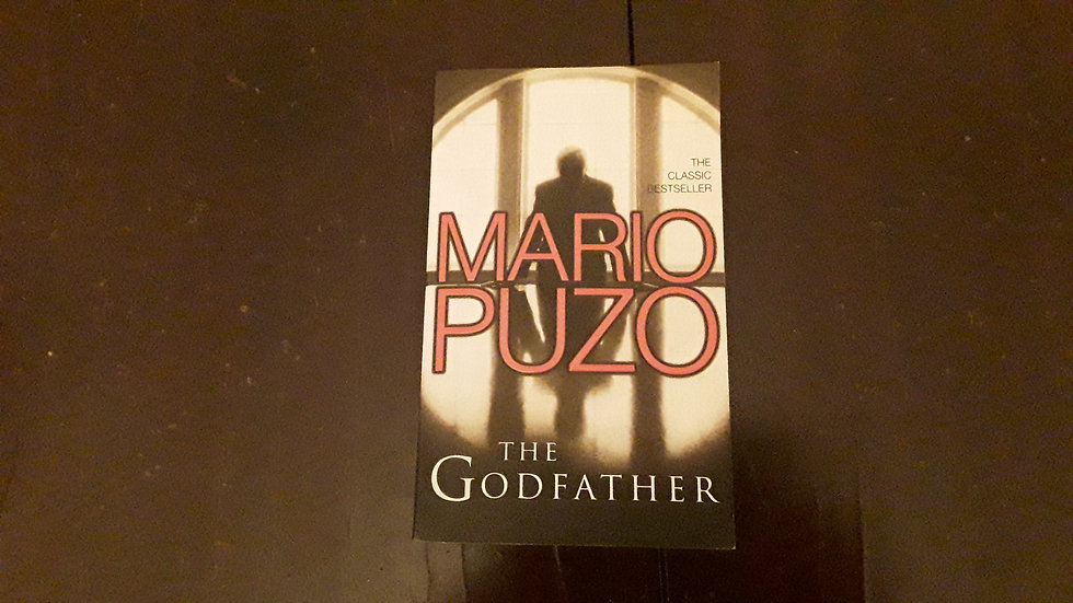 THE GODFATHER - Mario Puzo  | Okypus Antique Bookshop