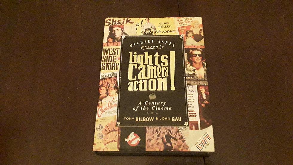 LIGHTS CAMERA ACTION! - Tony Bilbow & John Gau  | Okypus Antique Bookshop