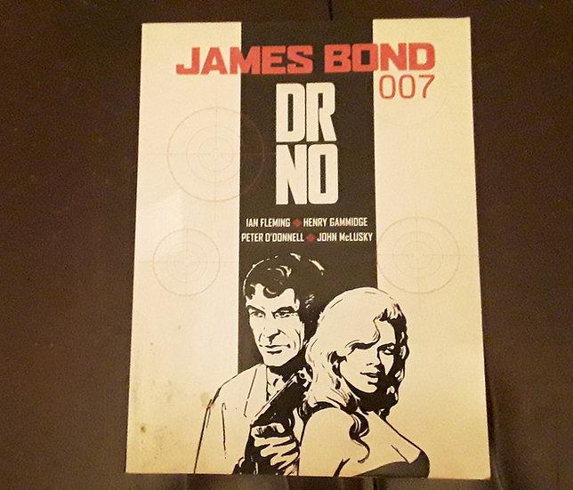 JAMES BOND DR. NO - Henry Gammidge , Ian Fleming , John McLusky  | Okypus Antique Bookshop