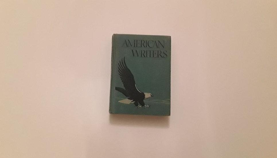 AMERICAN WRITERS - T. P. Cross & R. Smith & E. C. Stauffer & E. Collette  | Okypus Antique Bookshop
