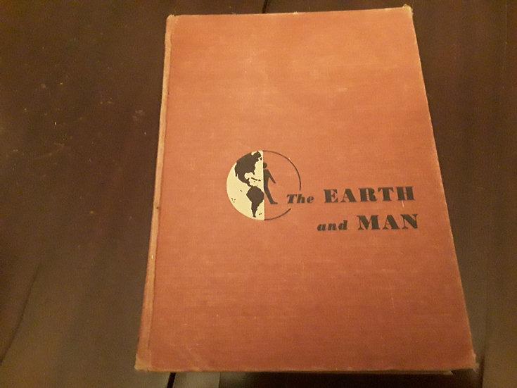 THE EARTH AND MAN - Darrell Haug Davis, Ph.D.  | Okypus Antique Bookshop