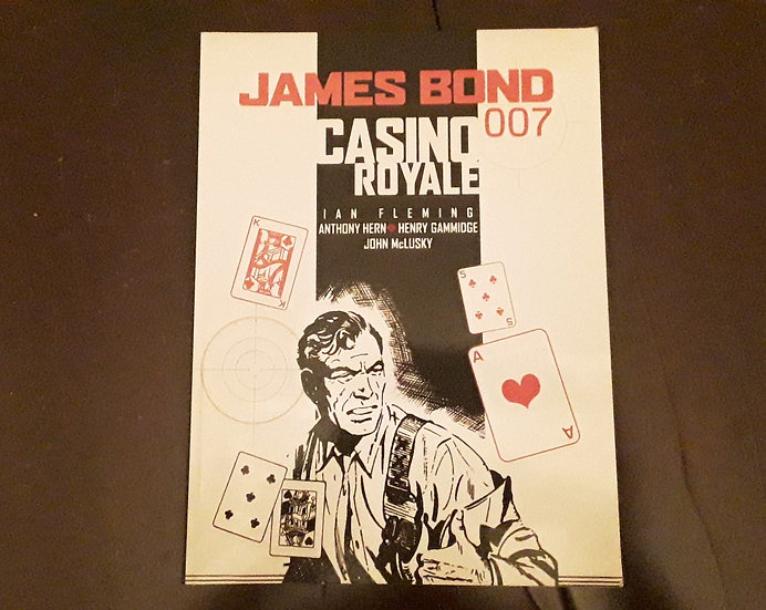 JAMES BOND CASINO ROYALE - Anthony Hern , Henry Gammidge , Ian Fleming | Okypus Antique Bookshop