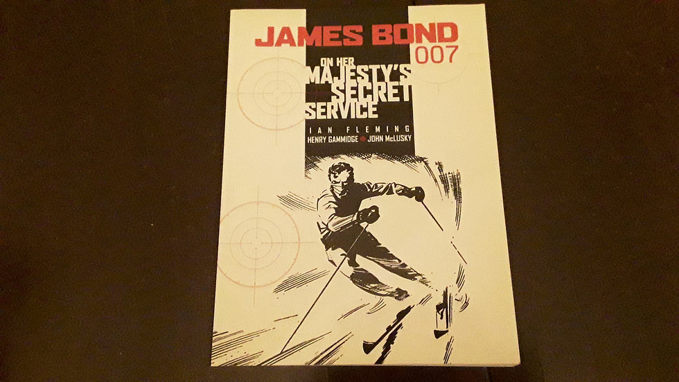 JAMES BOND ON HER MAJESTY'S SECRET SERVICE - Henry Gammidge , Ian Fleming  | Okypus Antique Bookshop