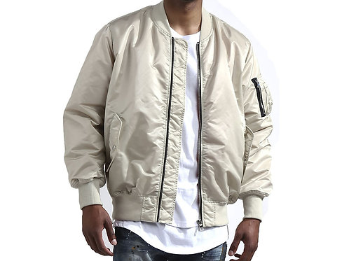 Bomber / Side Zipper